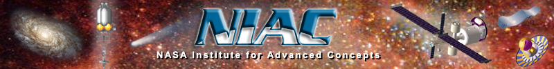 original NIAC banner archived by Universities Space Research Association (USRA)