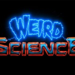 Weird Science film logo, 1985